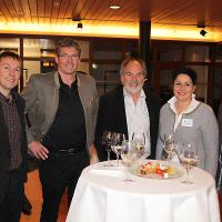 Walter Neuenschwander (direttore di Heinz Schaub AG), Viktor Baumann (direttore/proprietario di Baumann AG), Heinz Schaub (direttore/proprietario di Heinz Schaub AG), Daniela Schneeberger (consigliera nazionale del canton BL, PLR) e Christian Müller (vicepresidente UPSA, sezione Zurigo)