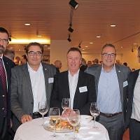 Gerhard Schürmann (Vorsitzender der Geschäftsleitung Emil Frey AG), Mario Gozzer (ex-Geschäftsführer Keto Autocenter AG), Werner Leuenberger (Geschäftsführer Schulhausgarage AG), Kenny Eichenberger (Geschäftsführer Kenny's Auto Center AG) und Afrim Alili (Keto Autocenter AG)