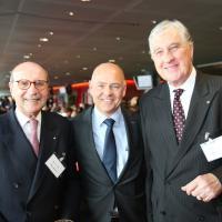 Silvio Bizzini (AMAG), Morten Hannesbo (AMAG) und Roland Ayer