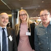Guido Buchmeier (VSCI), Yasmin Bürgi (City-Garage) und Max Fricker (City-Garage)