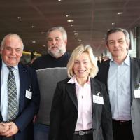 Martin Sollberger (Garage Sollberger), Roland Schwab, Priska Seeholzer (Garage Bruno Seeholzer), Bruno Seeholzer