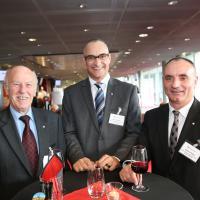 Ernaldo Bassetti, Marco Keller Vittorio Gallo (Allianz Suisse)