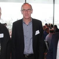 v.l. André Kunz (Präsident AGVS Sektion SZ), Beat Grepper (Präsident AGVS Sektion ZG) und Stephan Huwiler (Sekretär AGVS Sektion ZG)