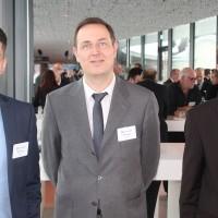 v.l. Nicolas Kunz, Heiko Haasler und Eric Sagarra (Eurotax)