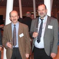 v.r. Philippe Pittolaz (Garage Autopac SA), René Bourgeois (Garage de Ballaigues SA), Philippe Monnard (Centre de Formation de l'UPSA Vaud) und Jean-Daniel Gaudin