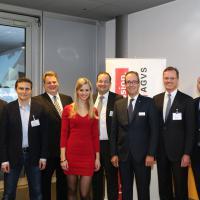 Morten Hannesbo, Philipp Ries, Lars Thomsen, Miriam Rickli, Mark Backé, Urs Wernli, Dr. Detlev Mohr und Christoph Aebi